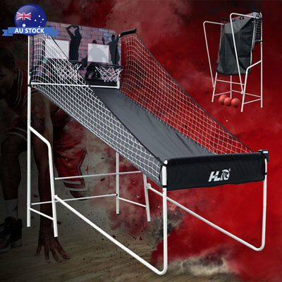 HLC 2 player LED Electronic Basketball Double Shot Hoops Arcade Sports Game