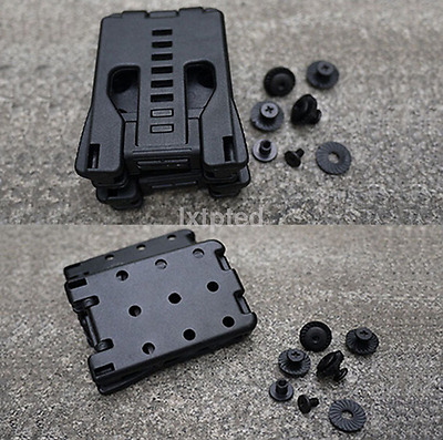 New Multi Function K Sheath Kydex Scabbard Shell Belt Clip Waist Clamp Black~