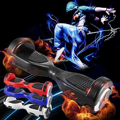 6.5'' 2Wheels LED SELF BALANCING SCOOTER ELECTRIC BLUETOOTH BOARD+ REMOTER & BAG