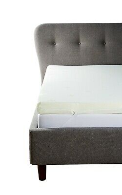 Luxury Memory Foam Orthopaedic Mattress Toppers With Top Quality Cover, UK Sizes