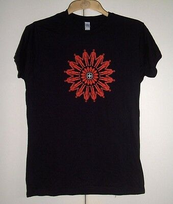 The Mission - Blood Red Logo Ladies T-Shirt Official Tour Merchandise New Rare