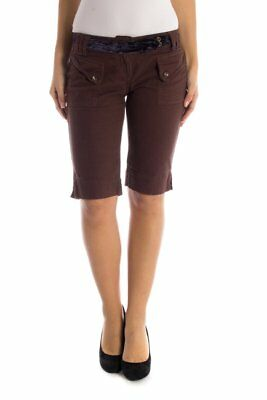 Datch BO-29W3432_ Shorts donna - colore Marrone IT