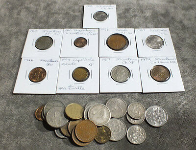 28 Coins Portugal 10 Different Types VF-BU Mixed 1966 1967 1979 C15