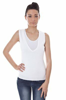 Datch BO-A9T7389_101 Gilet donna - colore Bianco IT