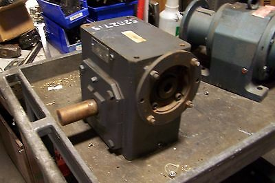 Morse Raider 40:1 Ratio Left & Right Output Worm Gear Reducer 375Q140Lr40