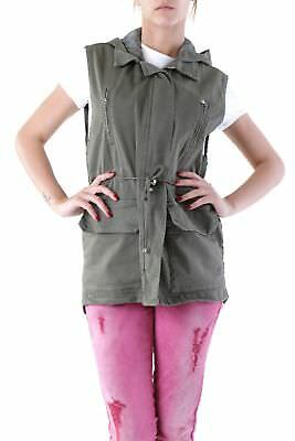 525 VI-D414 Gilet donna - colore Verde IT