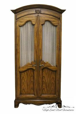 CENTURY FURNITURE 41″ Country French Clothing Armoire Made in America