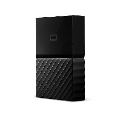 WD 2TB Black My Passport for Mac Portable External Hard Drive - USB 3.0 - WDB...