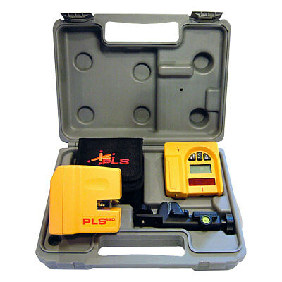 Self Leveling Laser Kit PLUS Detector Pacific Laser PLS180 SYSTEM New