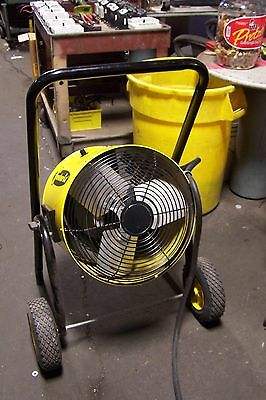 Fostoria Fes-1548-3E Electric Portable Blower Heater 480 Vac 15 Kw 3 Phase