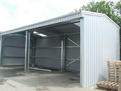 Steel Open Sided Shed by BSB