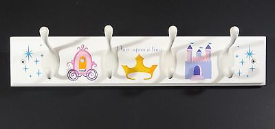Disney Princess Peg Rack Cinderella Once Upon a Time Wall Hanger Clothing Coat