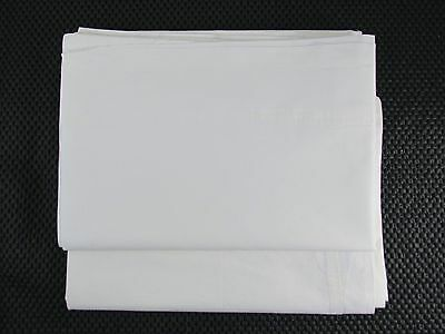 """Beverly Hills Hotel Pillow Cases White Cotton Set of Two 21"""" x 30"""" Used"""