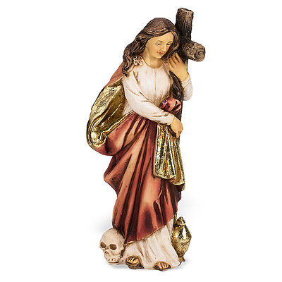 Statue St Mary Magdalene 4 inch Painted Resin Figurine Patron Saint Catholic Box
