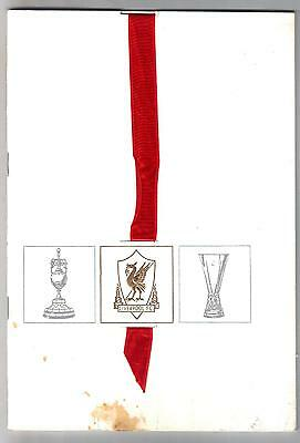 Liverpool League Champions & U.e.f.a. Cup  Winners 1972/73 + Shankly Autograph