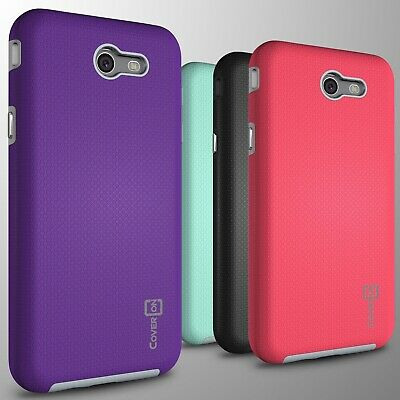 Hard Layer Cover Case For Samsung Galaxy J7 Prime / J7 Sky Pro / Halo