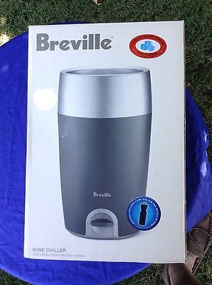 New Breville Wine Chiller-Chills A Bottle In 7 Minutes