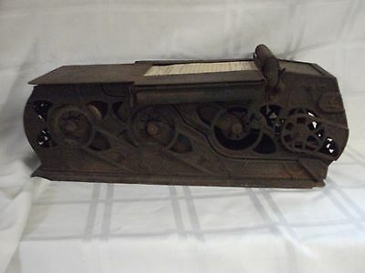 Early Vintage 1900 Autographic Register