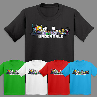 Undertale Gang T Shirt Cool Sans Kids Adventures Gamers T-shirt