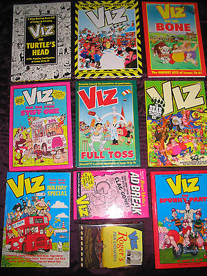 Viz Annual Collection 7 Early Plus Roger Mellie Books & Holiday Special