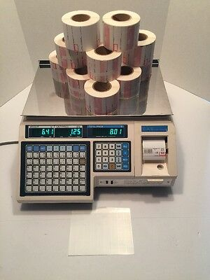 CAS LP-1000 Deli Scale Printer - Comes With 11 Rolls Of Labels