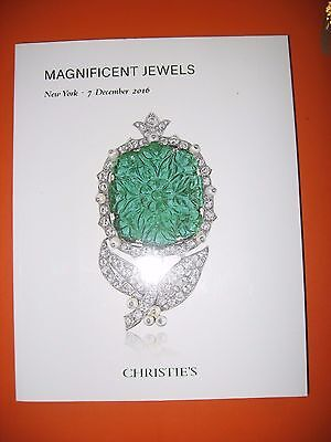 Christie's Magnificent Jewels December 2016 Including Betsy Bloomingdale Lots