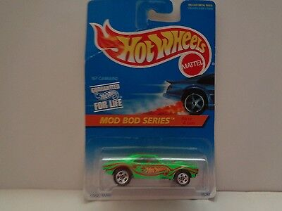 Hot Wheels '67 Camaro Mod Bod Series Collector # 399 Diecast Car 1:64 Scale New