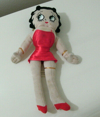 "Betty Boop Doll  9""L Small Universal Studios Islands of Adventure 1999"