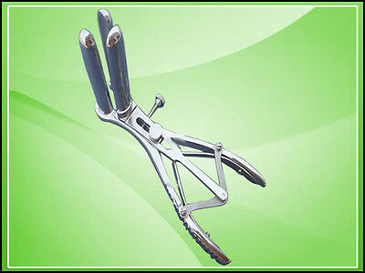 Three Prong Mathieu Rectal Speculum Stainless Steel