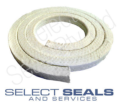 "Teflon PTFE Gland Packing - 4.75 Metric / 3/16"" 500 MM Length"