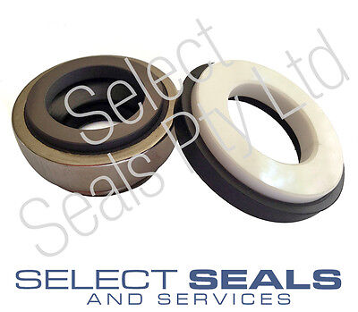 AES B01 Pump Seals, John Crane BT 25 mm Type 55 Mechanical Seal, Carbon Ceramic
