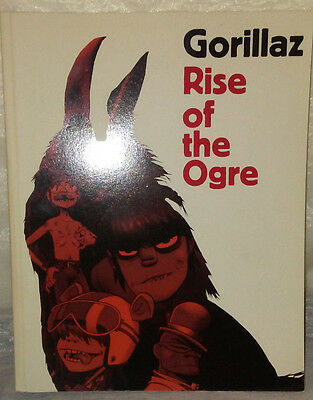 Gorillaz : Rise Of The Ogre By Gorillaz And Cass Browne (2007 Paperback) $.99 Nr