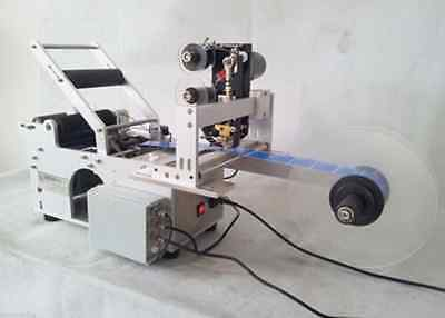 Automatic Round Bottle Labeling Machine with Date code printer,labeller M