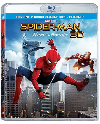 SPIDER-MAN: HOMECOMING 3D (BLU-RAY 3D + 2D) con Tom Holland,Michael Keaton