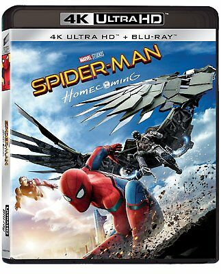 SPIDER-MAN: HOMECOMING (BLU-RAY 4K ULTRA HD + 2D) con Tom Holland Michael Keaton