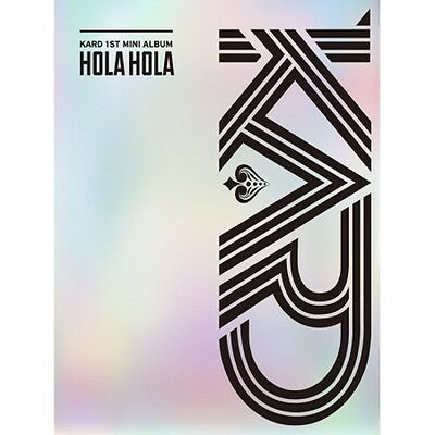 KARD-[Hola Hola]1st Mini Album CD+KARD Poster+Photobook+Photocard KPOP Sealed