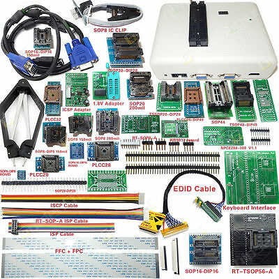 RT809H EMMC-Nand FLASH Extremely fast Universal Programmer +31 Adapters