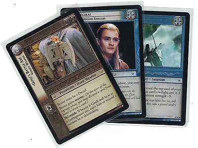 Lord of the Rings CCG Shadows: 3x Rare Cards   freie Auswahl    Lot