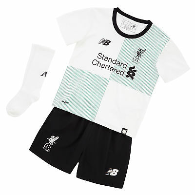 Liverpool Away Infant Kit 2017-18