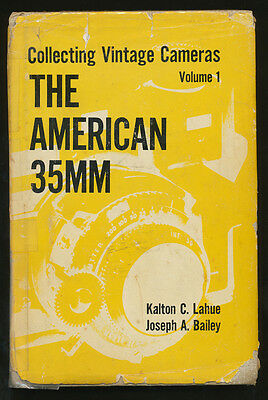 """Lahue-Bayley libro Collecting Vintage Cameras Vol.I """"The American 35mm"""" D989"""