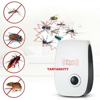 one Electronic Pest Repeller Ultrasonic Rejector for Mouse Bug Mosquito Insect