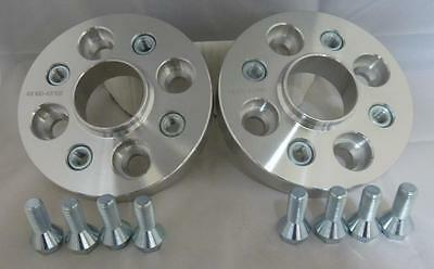 VW Lupo 1998 - 2005 20mm Hubcentric Wheel Spacers 4x100 PCD 57.1 CB 1 Pair