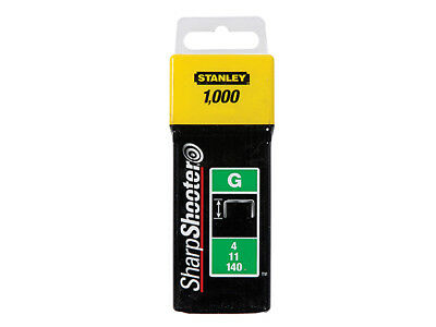 Stanley Tools TRA705T Heavy-Duty Staple 8mm Pack 1000
