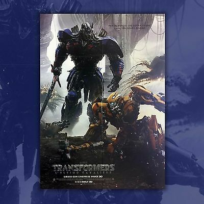 Original Movie Poster Transformers L'ultimo Cavaliere The Last Knight 100x140 CM