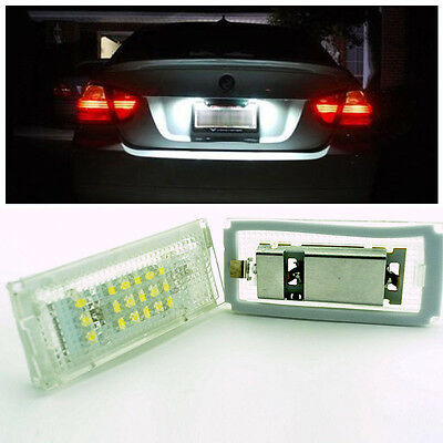 1x New LED Error Free License Number Plate Light for BMW E46 5 Door Touring