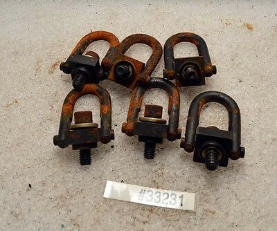 Lot of Six Jergens 3/8-16 Swivel Hoist Lifting Rings (Inv.33231)