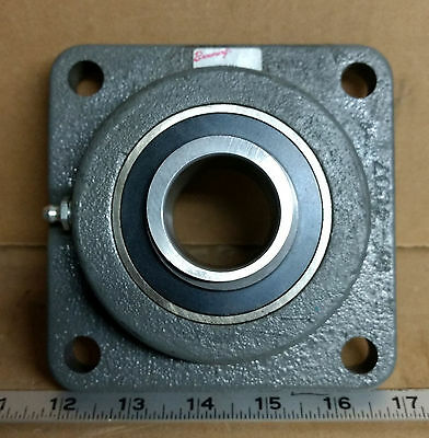 "1 New Browning Vf4E-224 Eccentric 1-1/2"" Bore 4-Bolt Flange Bearing (No Collar)"
