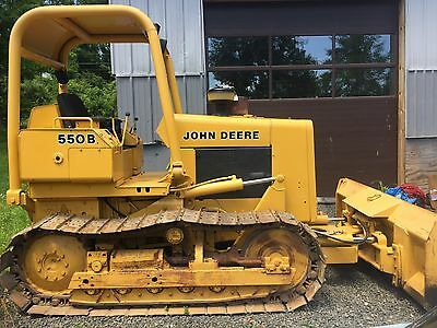 1986 John Deere Dozer 550B Great Shape