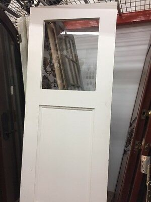 Old Kitchen Swing Door With Glass Window