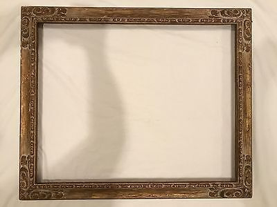 Antique 30x24 Newcomb Macklin Picture Frame - Arts & Crafts Period c 1930s